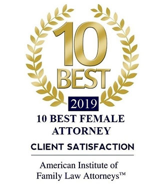 American Institute of Family Attorneys - 10 Best Female Attorney 2019